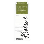 D'Addario DLR0530 Reserve, Baritone Saxophone Reeds, Strength 3.0, 5-Pack