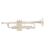 Bach LR180S43 Stradivarius Professional Trumpet with Reverse Leadpipe- Silver