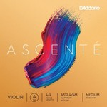 D'Addario Ascente Violin Single A String, Medium Tension
