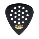 Pickboy PB44BP075 Pos-a-Grip, Black Cellulose 0.75mm 10 Picks