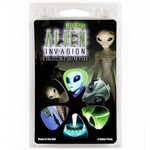Hotpicks 1AIVRCS01 Alien Invasion 01 Picks Clamshell 6-Pack