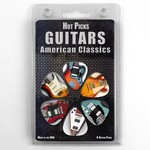 Hotpicks 1GTRCS01 Guitars 01 - 6 Pack