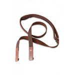 Right On! 8401120020350 Classical-Dual-hook Brown Guitar Strap
