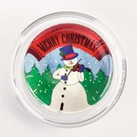 MCV-3GM Merry Christmas Snowman Violinist Magic Rosin