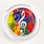 GTC-3GM Groovy Treble Clef Magic Rosin