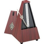 801M Wittner Mechanical Wood Metronome, Mahogany