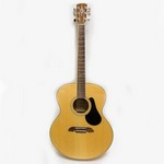 Used Alvarez AJ-60S Jumbo Guitar with Hardshell Case