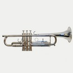Used Eterna 700 Silver Bb Trumpet