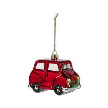 TAG TAG207600 Whimsy Car w/ Wreath Ornament